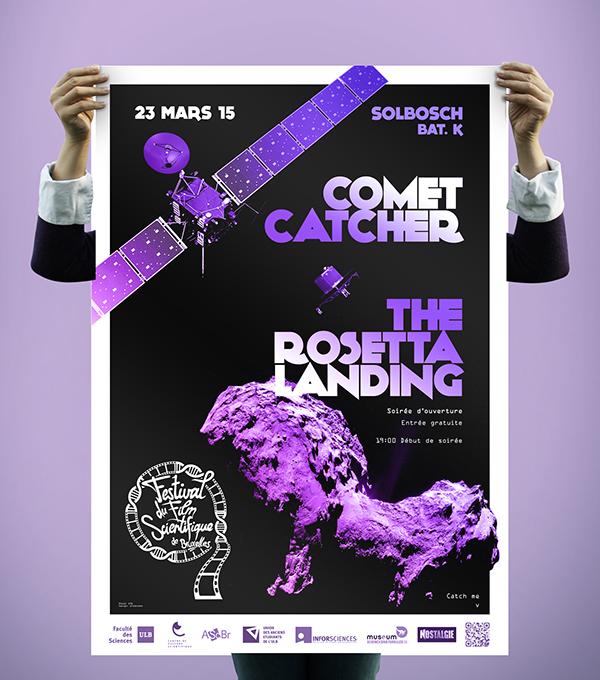 Comet rosetta festival movie