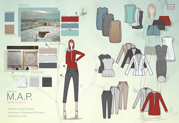 Fashion Design Portfolio On The Art Institutes Portfolios