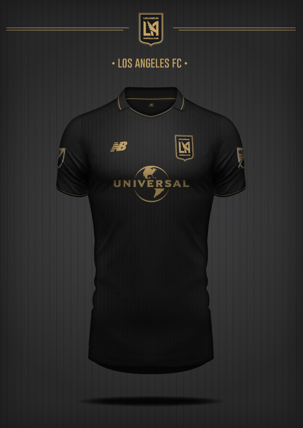 New Balance Los Angeles FC Concept Kit