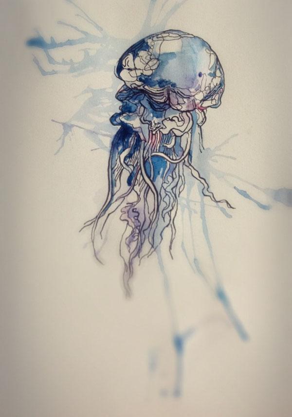 jellyfish on behance
