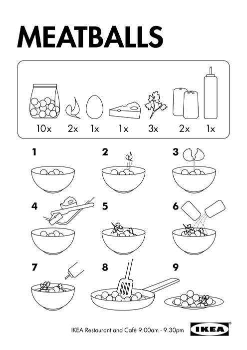 Ikea on behance for Ikea assembly instructions help
