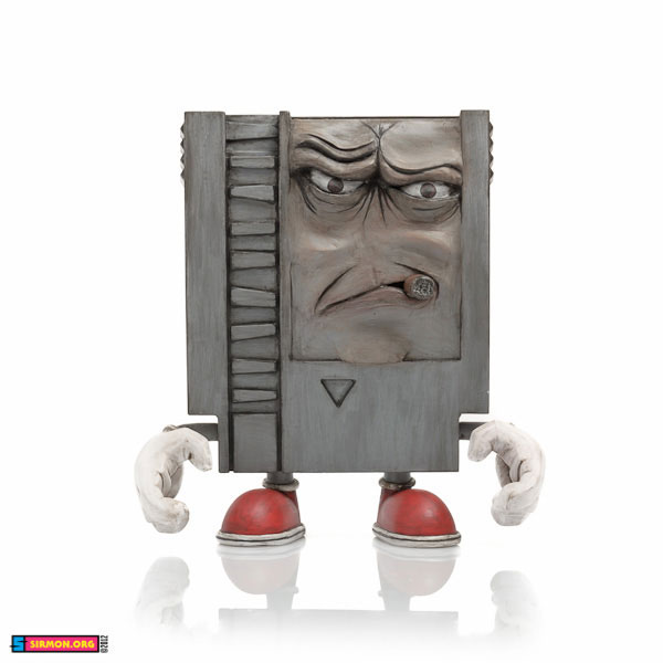 Nintendo 10-doh angry cigar old man old man video game weathered