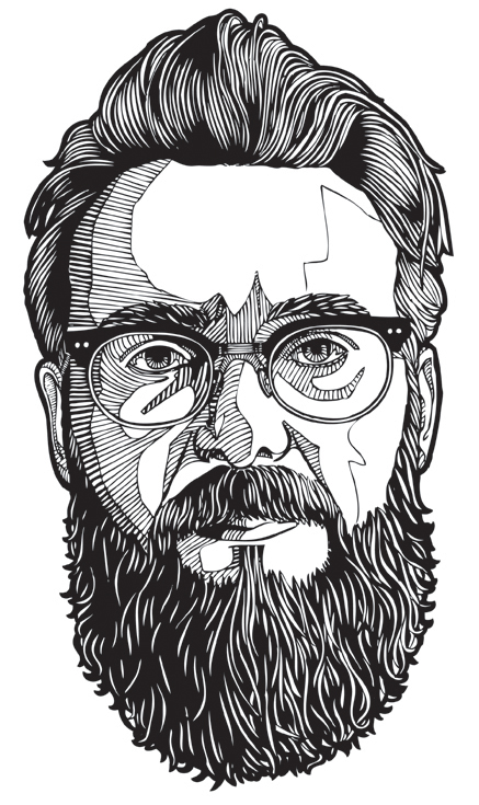 Line Art Illustrator : Line portraits on behance