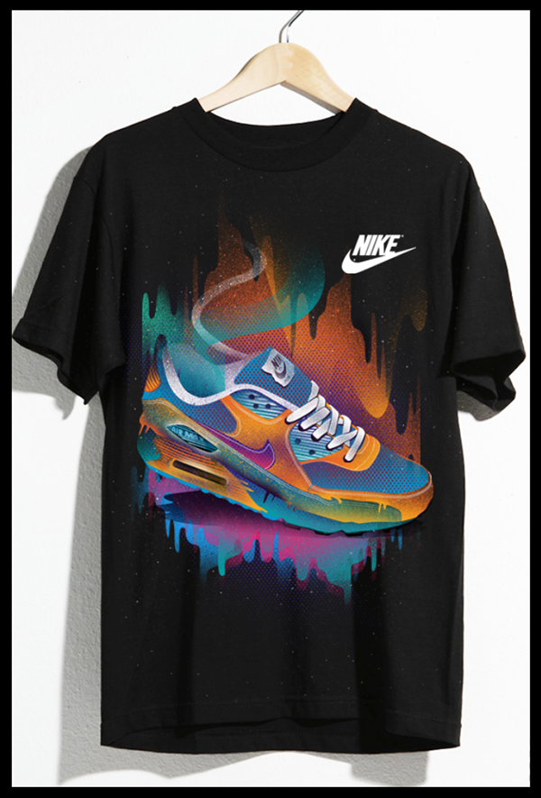 nike air max t-shirt design