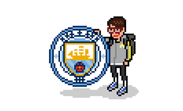 Barclays Premier League Pixel Art On Pantone Canvas Gallery