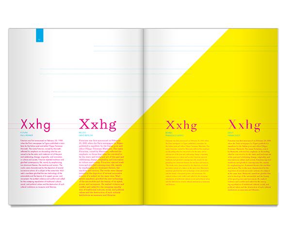 university of kansas KU Clarendon book typographic manual CMYK clean minimal Layout fidelity