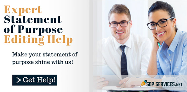 statement of purpose format examples