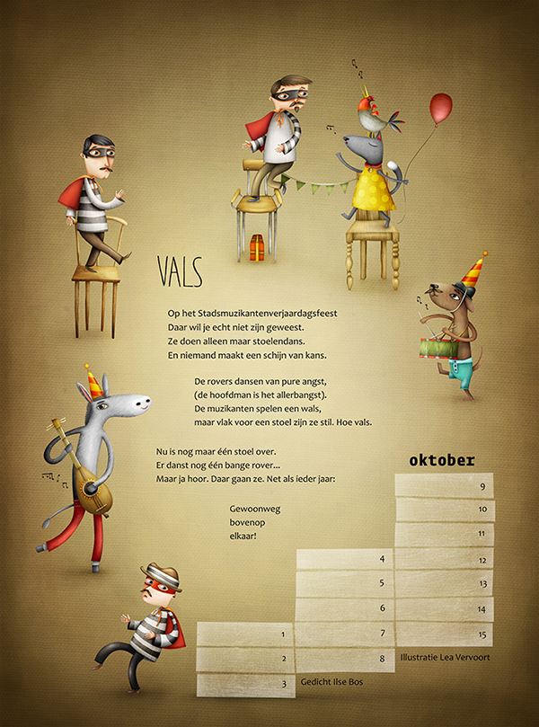 Town Musicians Of Bremens Musical Chairs On Behance