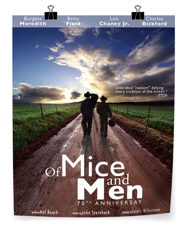mice and men comparison between book and film 1