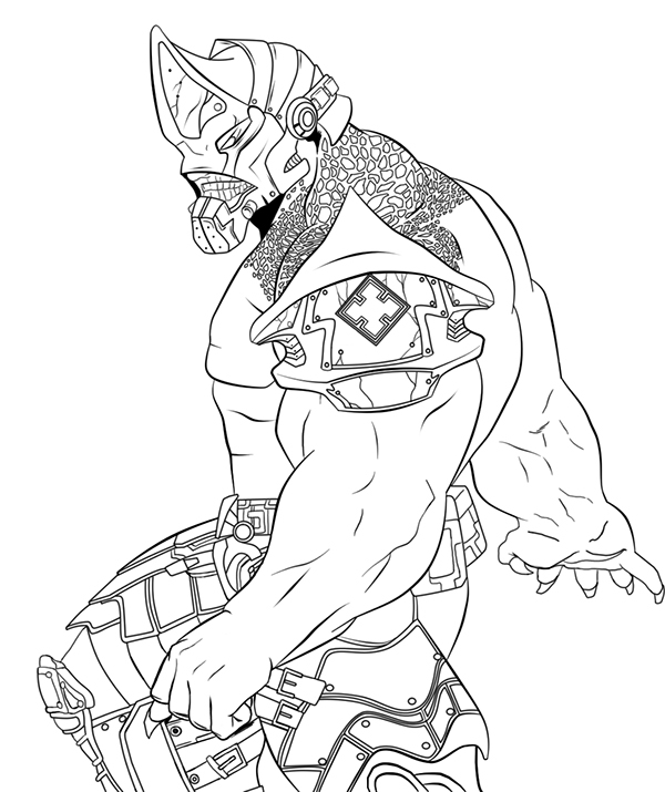 Locust gears coloring pages for Locust coloring page