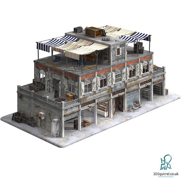 Exceptional 3D Model   City Store Apartment   3DSquirrel.co.uk On Behance