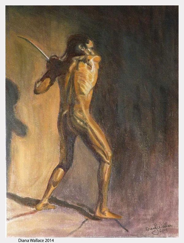 Full Figure Painting On Behance