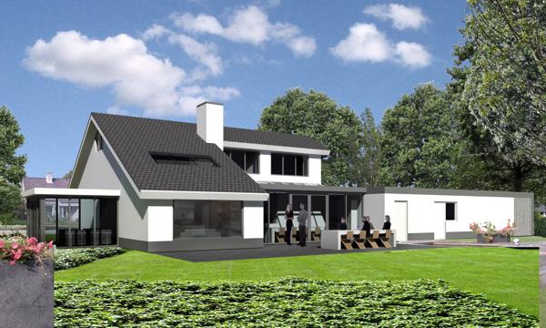 Woonhuis vorden on behance - Moderne verdieping ...