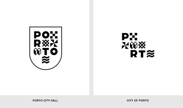 porto Oporto identity logo graphic system Europe city