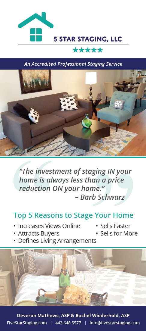 Home Staging Flyer On Behance