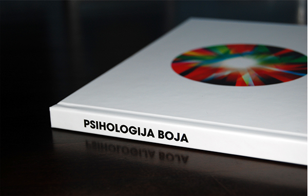 PSIHOLOGIJA BOJA book cover on Behance