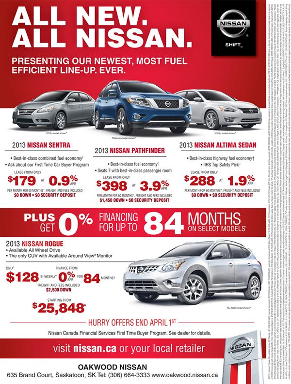 Nissan Car Ads On Behance