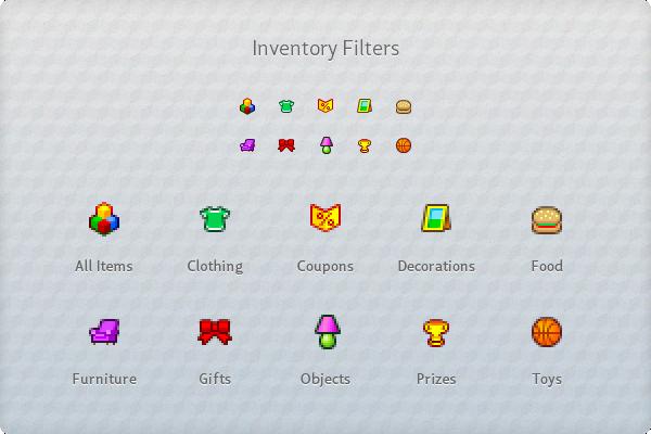 Webkinz icons Pixel art