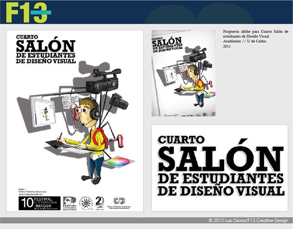 Imagen cuarto sal n de estudiantes de dise o visual on behance - Salon de diseno ...