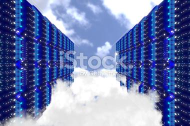 Data Server Stock Image Works (3D)