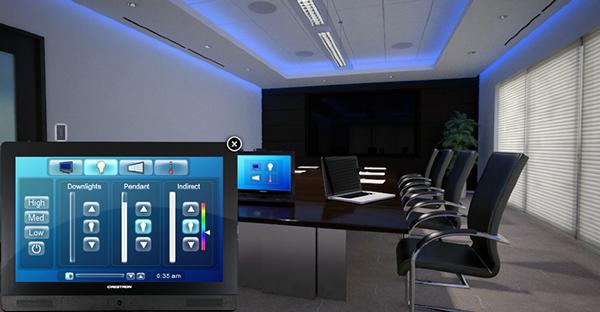 Crestron Interactive Boardroom Gui On Behance
