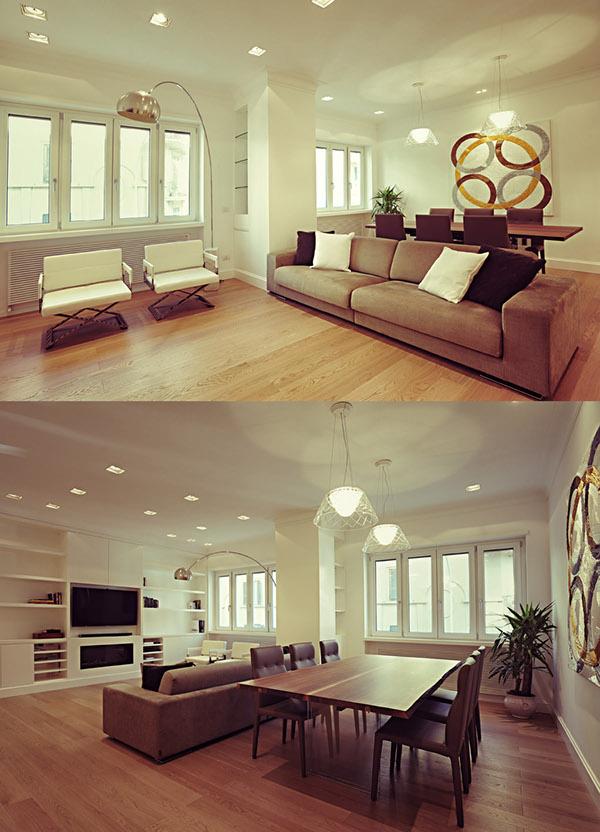 Interior design appartament in rome on behance for Interior design roma