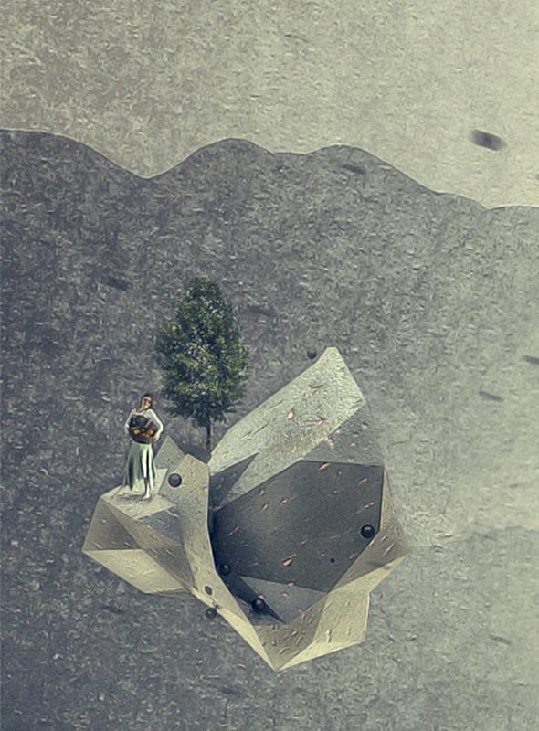 3D compositing postproduction photomanipulation surrealism photoshop cinema 4d c4d