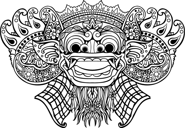 barong illustration on behance barong illustration on behance