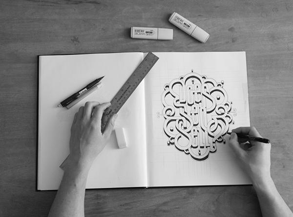 Hand Lettering by Ben Johnston