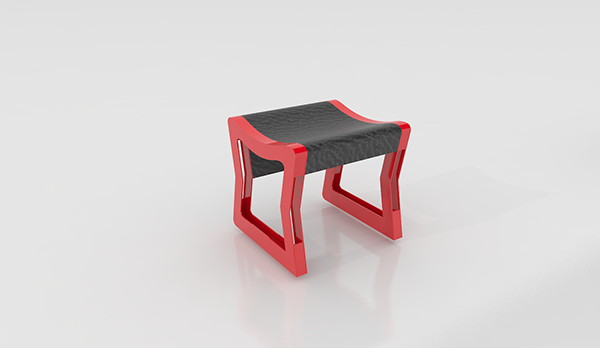 Play chair on behance for Sillas para jugar ps4