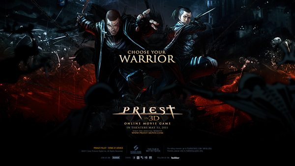 game Sony pictures priest Jeff Mendoza violent medieval War Web
