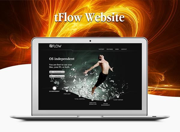 tFlow Web Site