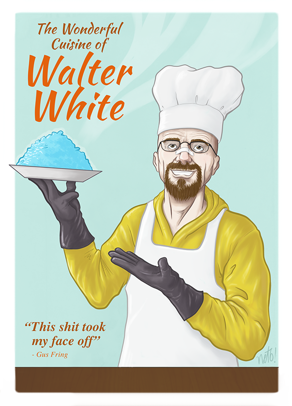 breaking bad walter white homage TV shows AMC heisenberg