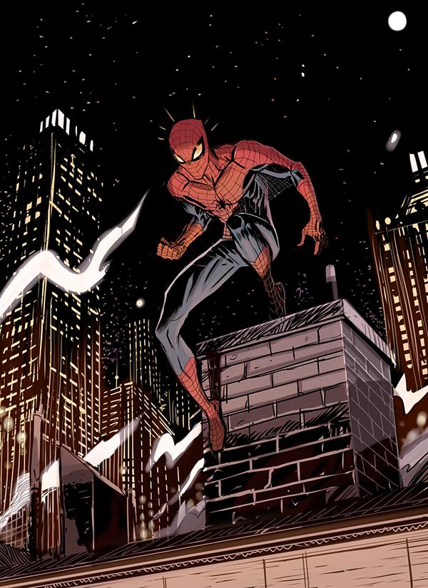 Spiderman by Dan Mora