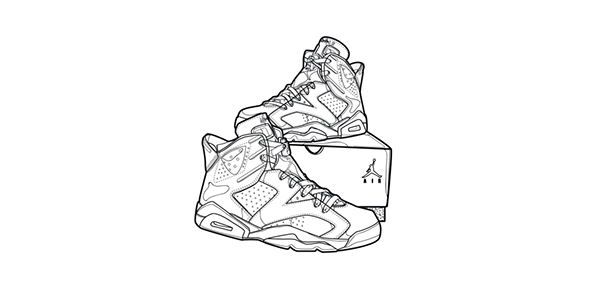 932d278df65 ... Nike Air Jordan Retro 6 ...