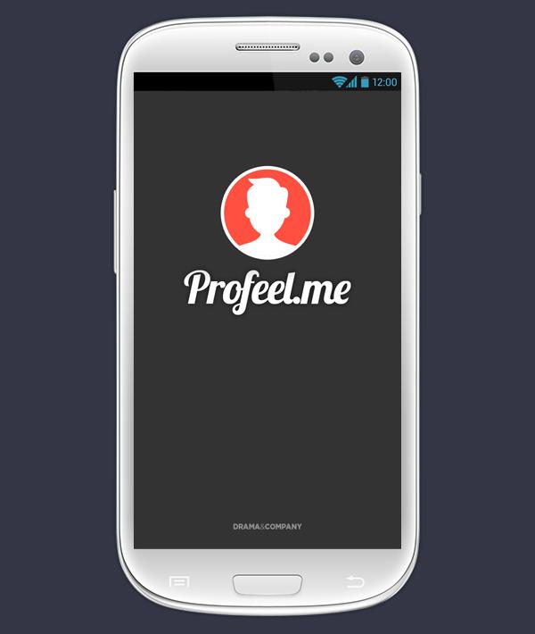Profeel Mobile business card app on Behance