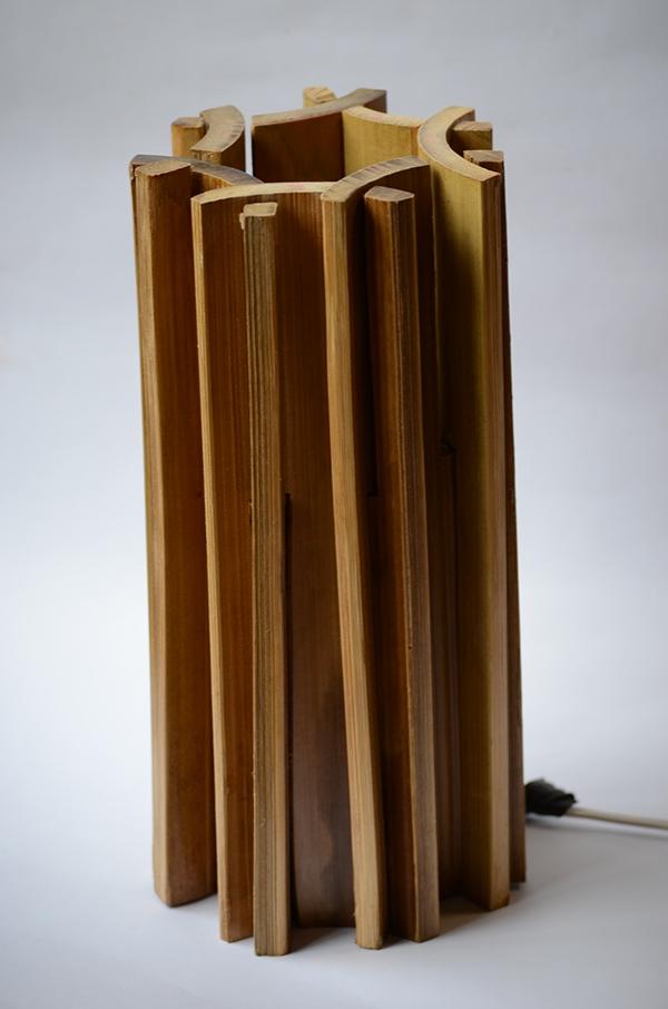 Artesanato Em Florianopolis Sc ~ Luminária desmontável de Bambu in Natura on Behance