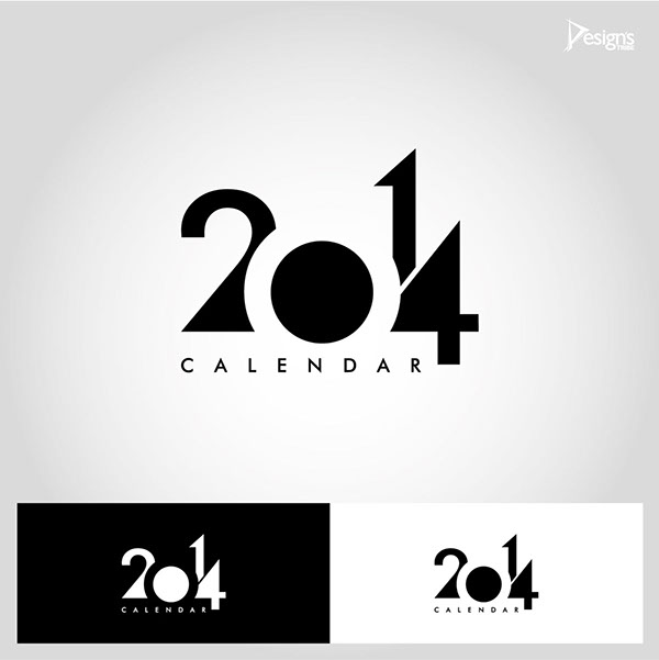 Calendar 2014 Design Template On Behance