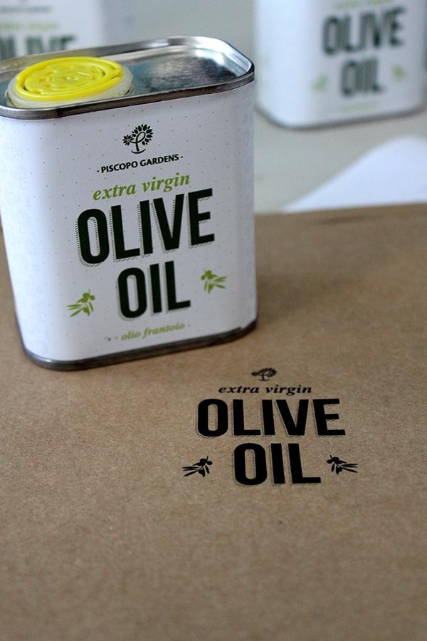 Garden Centre: Olive Oil For Piscopo Gardens On Behance