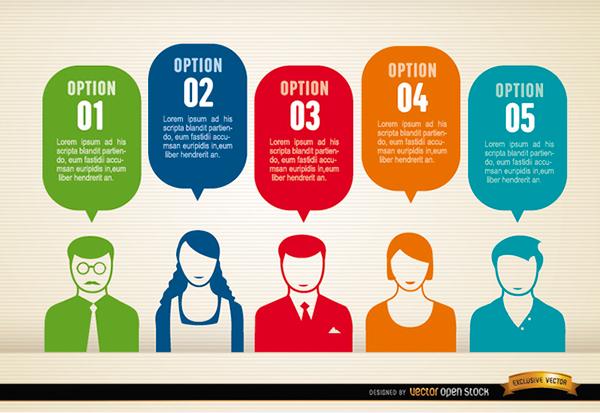 Free Vectors: Infographics Elements on Behance