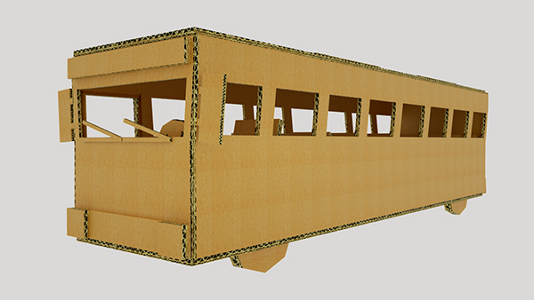 cardboard cinema4d octane story box