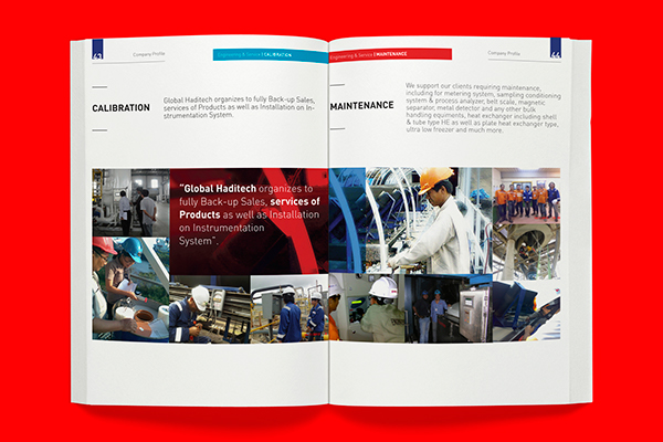 Global haditech company profile product catalog design on for Product design companies