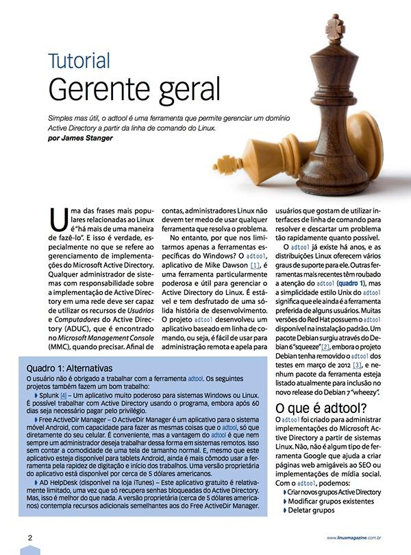 Novo design Linux Magazine 105 on Behance