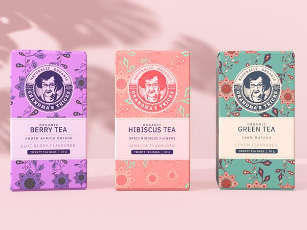Tea Packaging Grandma's Tricks