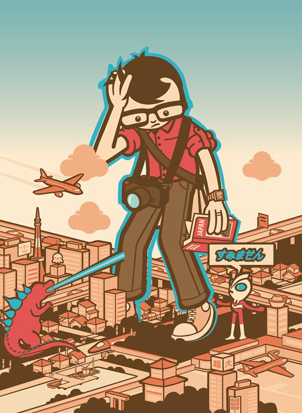Gaijin illustration