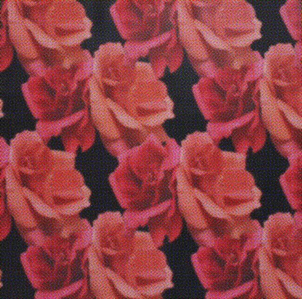 fabric design halfdrop halftone
