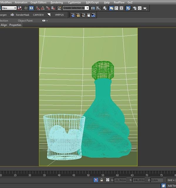 Unique bottle 3d bottle rendering packing product studio jimmy ribas unique3d CG