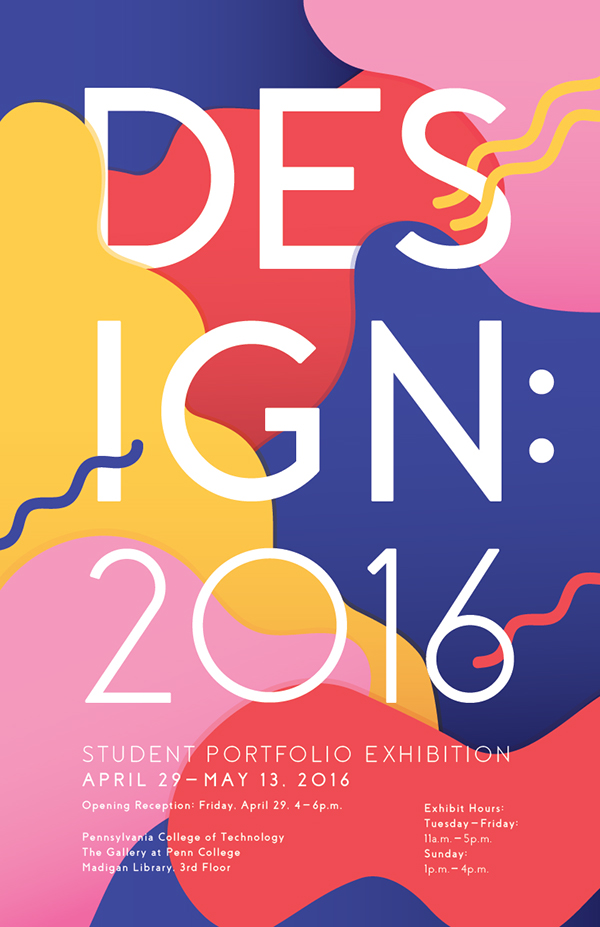 Design: 2016 Poster on AIGA Member Gallery