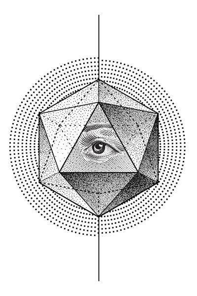 Simple Geometric Line Art : Geometric line drawings imgkid the image kid