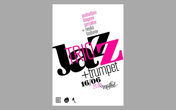 Jazz Trio+Trumpet | Live Music Poster & FB Event Cover
